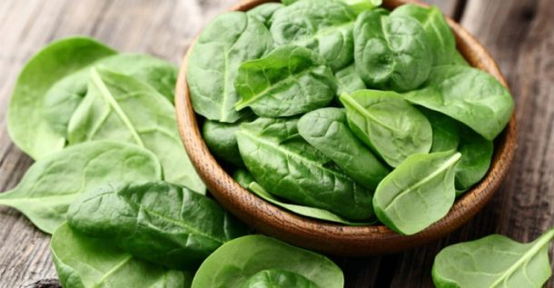 Spinach is not just for Popeye